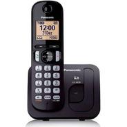 Telefone Sem Fio Panasonic Kx-tgc220lbb Preto