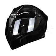 Casco Para Moto Abatible Hro 3400dv Unit Negro Con Luz Stop