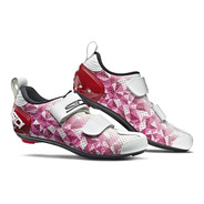 Sapatilha Triathlon Sidi T5 Air  Woman Branca/rosa 2020