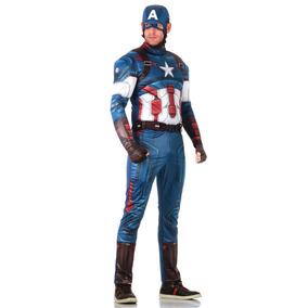 Fantasia Capitão América Adulto - Vingadores