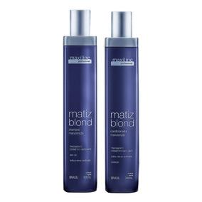 Kit Matiz Blond Manut.(shampoo + Emulsão) 2x300ml - Maxiline