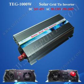 Inversor Grid Tie 1000w Dc 22v~45v P/ Ac 110v Ou 220v