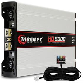 Módulo Amplificador Taramps Hd 5000 Class D Watts 1 Ohm Pro