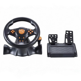 Volante P/ Ps2 Ps3 Pc C/ Marcha Dual Shock Js074 Multilaser