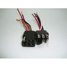 Conector 6 Vías Tipo Trailer Universal Sq-660-sq-661
