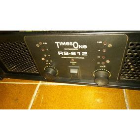 Amplificador Times One Rs 612 /machine/ Studio-r/ Hot Sound