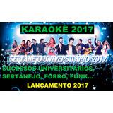 2017 Dvd Karaokê Sertanejo Universitário Lançamento, Funk Cd