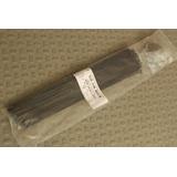 72 Rayos Trafilados Negros C/ Niples Negros 295mm Acero Inox