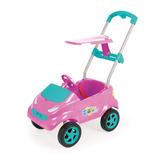 Baby Car Pink/azul Truquesa C/ Acessórios - Home Play/xplast