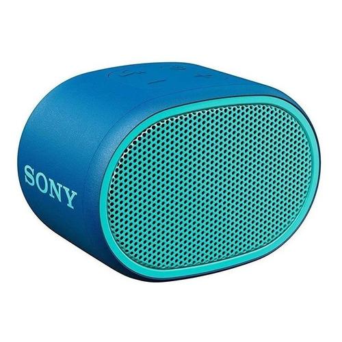 Parlante Sony Extra Bass XB01 portátil con bluetooth azul