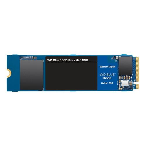 Disco sólido interno Western Digital  SN550 WDS100T2B0C 1TB azul