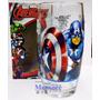 Copo De Vidro Os Vingadores Nadir Marvel Avengers 4 Unidade