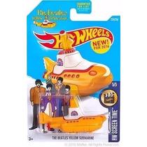 Hot Wheels 2016 Yellow Submarine The Beatles Nuevo