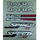 Adesivo Dafra 150 Speed 2008 A 2009