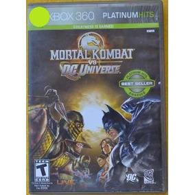 Mortal Combat Vs Dc Universe Xbox 360