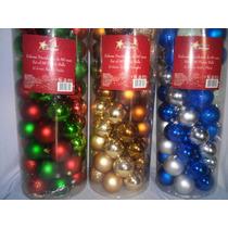 Esferas Navideñas Cilindro 60 Navidad Envio Gratis!!!!!!