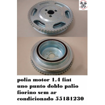 55181230 Polia Motor 1.4 Fiat Uno Palio Doblo Punto Sem Ar