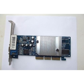 Placa De Video Geforce Mx4000/128mb 32bit Agp8x
