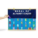 Mural Da Alfabetização Em Felcro E Eva 339 Carlu