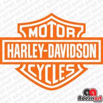 Adesivo Moto Harley Davidson Custom Chopper Cycles Motoclube