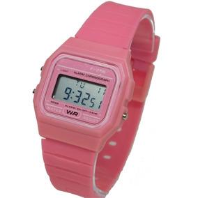 2490460a372 Relogio Feminino Casio Mostrador Rosa - Relógios no Mercado Livre Brasil