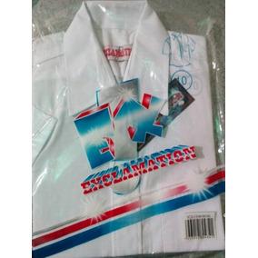 Camisas Escolares Blancas Y Azules