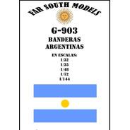 Far South Models G-903 Banderas Argentinas