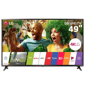Smarttv 49 Ultra Hd 4k Lg 49uj6300 Ips Hdr Music Player