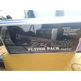 Pack Guitarra Epiphone Les Paul Player Pack