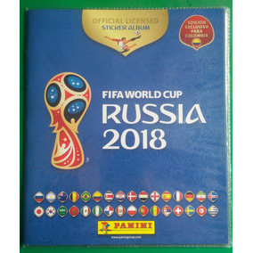 Álbum Copa Russia 2018 Edición Exclusiva Para Colombia