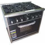 Cocina 6 Hornallas Morelli Cristal 87 Cm Digital Zona Oeste!