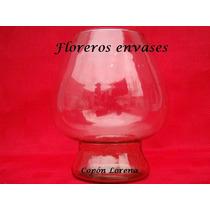 5 Copones Lorena De Vidrio - Bochines - Bochas - Cilindros