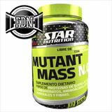 Mutant Mass N.o Suplemento Dietario Star Nutrition 1500g