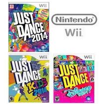 Just Dance 2014 + Kids + Disney Party Lacrado - Nintendo Wi