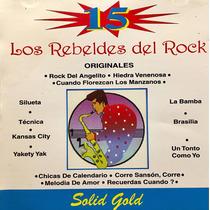 Cd Los Rebeldes Del Rock 15 Grandes Exitos