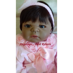 Bebê Reborn Natália - Pronta Entrega! Modelo Negra Exclusiva