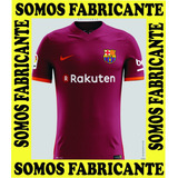 Camisa Franela Barcelona Nuevo Modelo Futbol 2017 2018