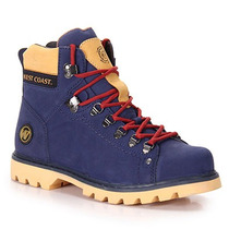 Bota Coturno Masculina West Coast Worker - Azul