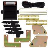 Kit Trava Elétrica Fiat Uno Com Suportes De Fixação 4 Portas