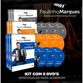 Dvds De Improvisação (coleção Completa) - Paulinho Marques