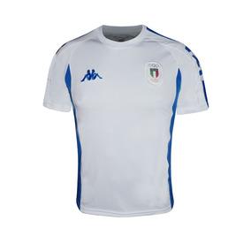 Playera Jersey Futbol Caballero M. Corta Italia Je-035 Kappa