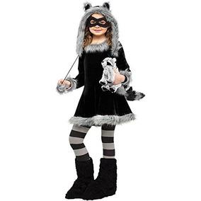 Vestido Dulce Del Mapache De Vestuario Infantil: Grande (12-