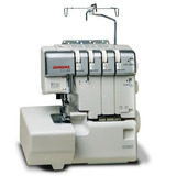 Overlock Janome 1210 Dx Semi Industrial Accesorios Y Rulote
