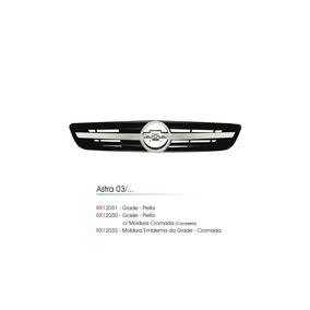 Grade Frontal Radiador Astra 03 04 05 06/11 Friso Cromado