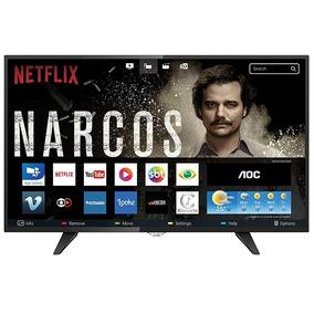 Smart Tv Led 39 Polegadas Aoc Wifi Hd Usb Hdmi Le39s5970