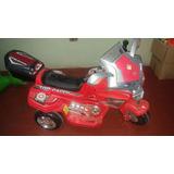 Moto Topracer Con Motor P/niño