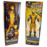 Muñeco De Wolverine X-men 30cm Original Hasbro