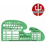Gabarito Eletro Eletrônica Mod.e-26 Trident