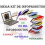 Pacote Ebooks Mega Kit De Info Produtos