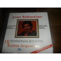 Cd Joan Sebastian 15 Exitos Originales